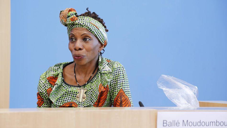 Marianne Ballé Moudoumbou, Sprecherin der Pan African Women's Empowerment and Liberation Organisation