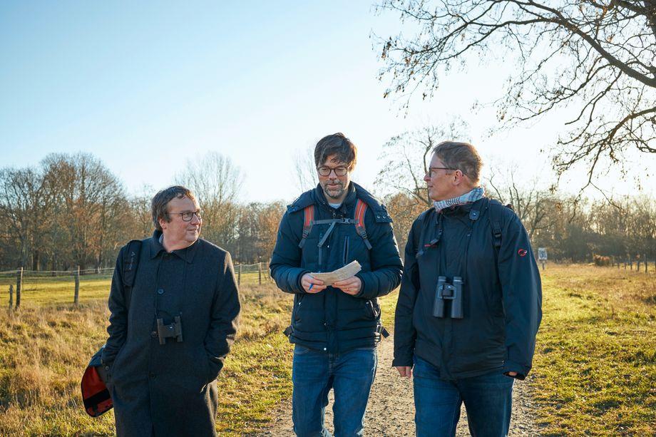 Reporter Stefan Schultz lernte auf dem Spaziergang rund 30 neue Vogelarten kennen. Nur den Rotmilan bekam er nicht zu Gesicht. Der brütet laut Nabu-Chef Krüger nicht so gern in den Karower Teichen.