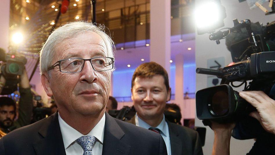 European Commission President Jean-Claude Juncker and his cabinet head Martin Selmayr