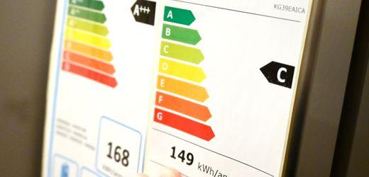 Neues EU-Energielabel für Haushaltsgeräte: A+++ ist bald passe