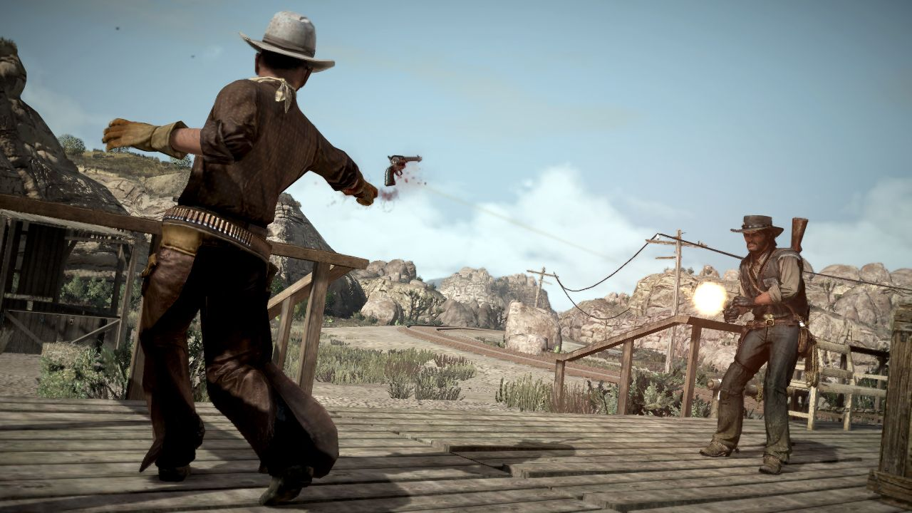 SCREENSHOT Red Dead Redemption