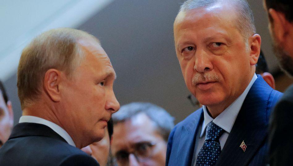 Wladimir Putin und Recep Tayyip Erdogan