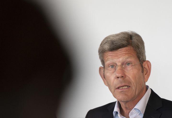 VDA-Präsident Bernhard Mattes versuchte, die Aktivisten zu besänftigen