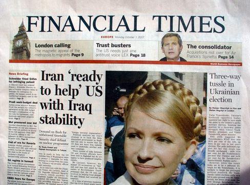 """""""Financial Times"""" Print: Webangebot setzt auf Bezahlinhalte"""