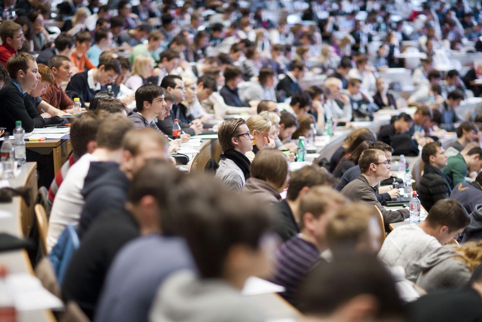 Studenten / Uni St. Gallen/ Schweiz