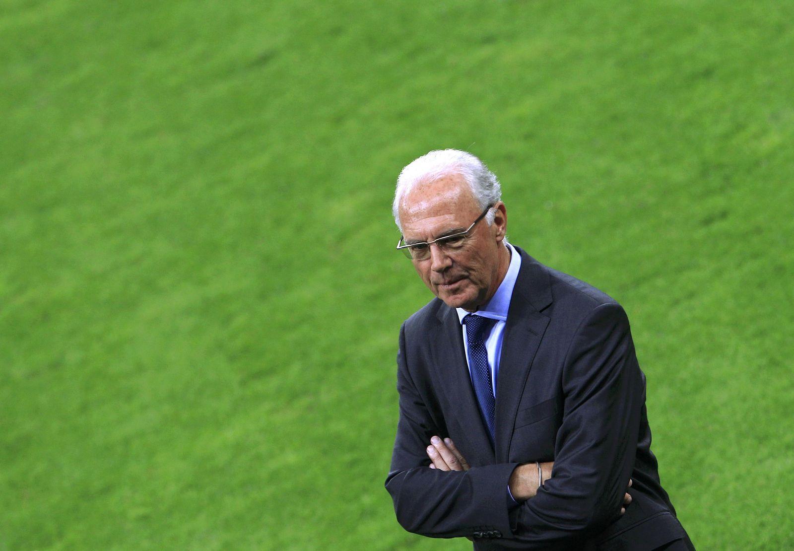 Ali-Reaktionen / Franz Beckenbauer