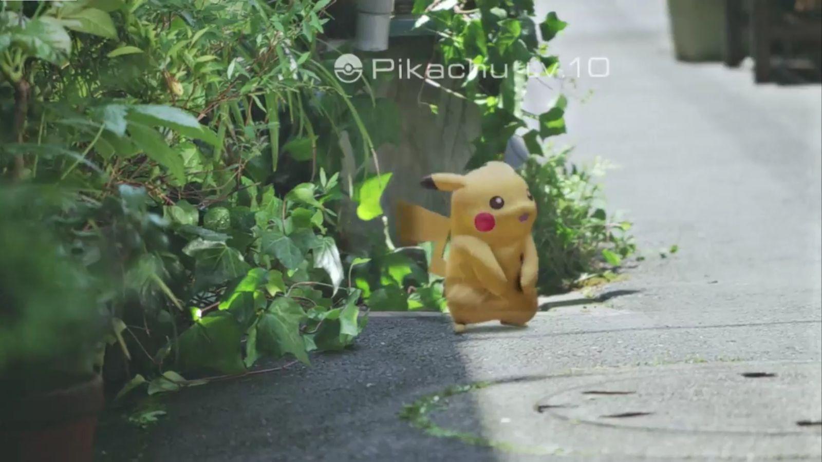 NUR ALS ZITAT Screenshot Pokemon Go