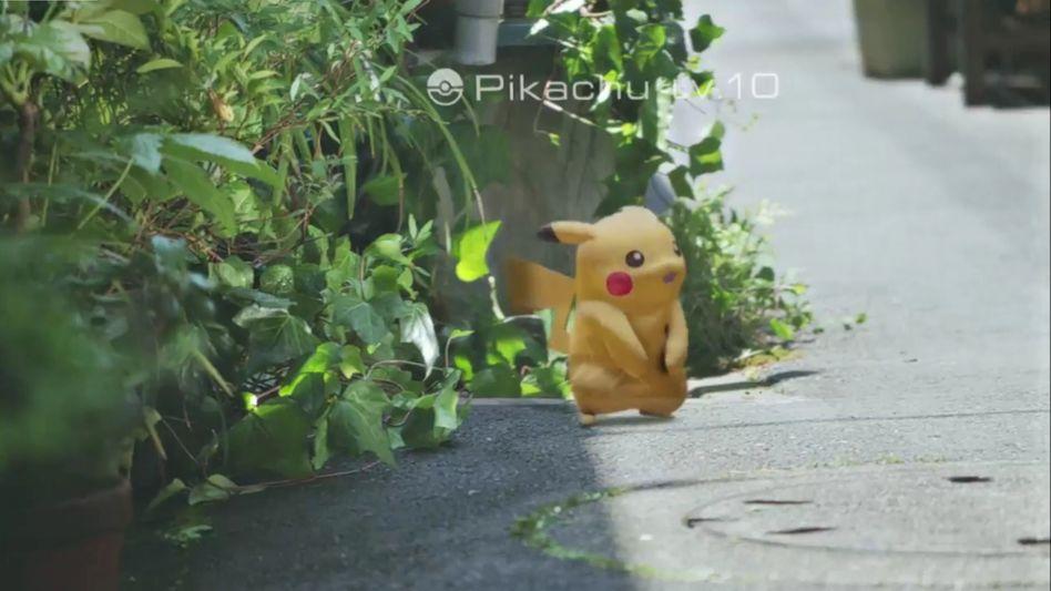 """Bild aus dem Trailer von """"Pokémon Go"""": Die Vision klingt nett - aber kann die tatsächliche Umsetzung mithalten?"""