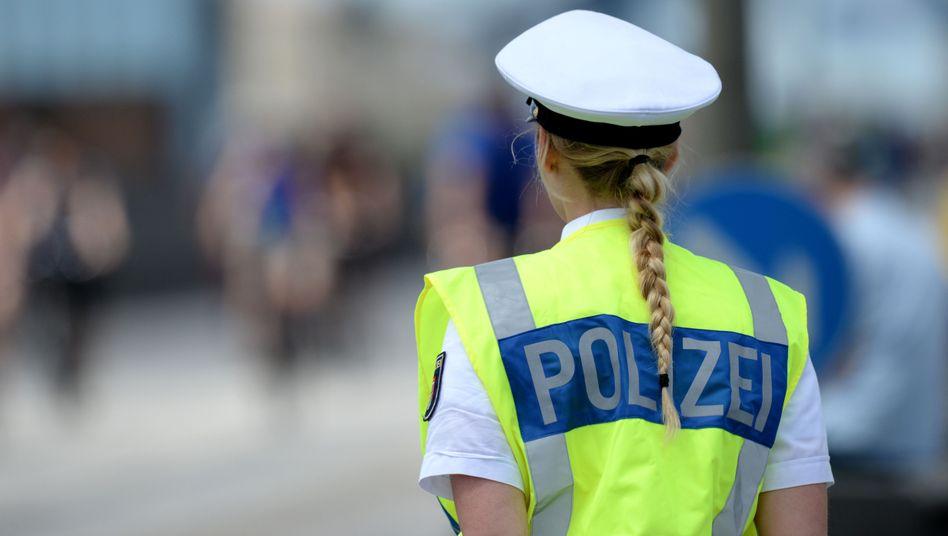 Polizistin, allerdings in Hamburg (Archivfoto)