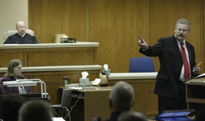 Ankläger im Fall Avery: Ken Kratz 2007 im Gerichtssaal