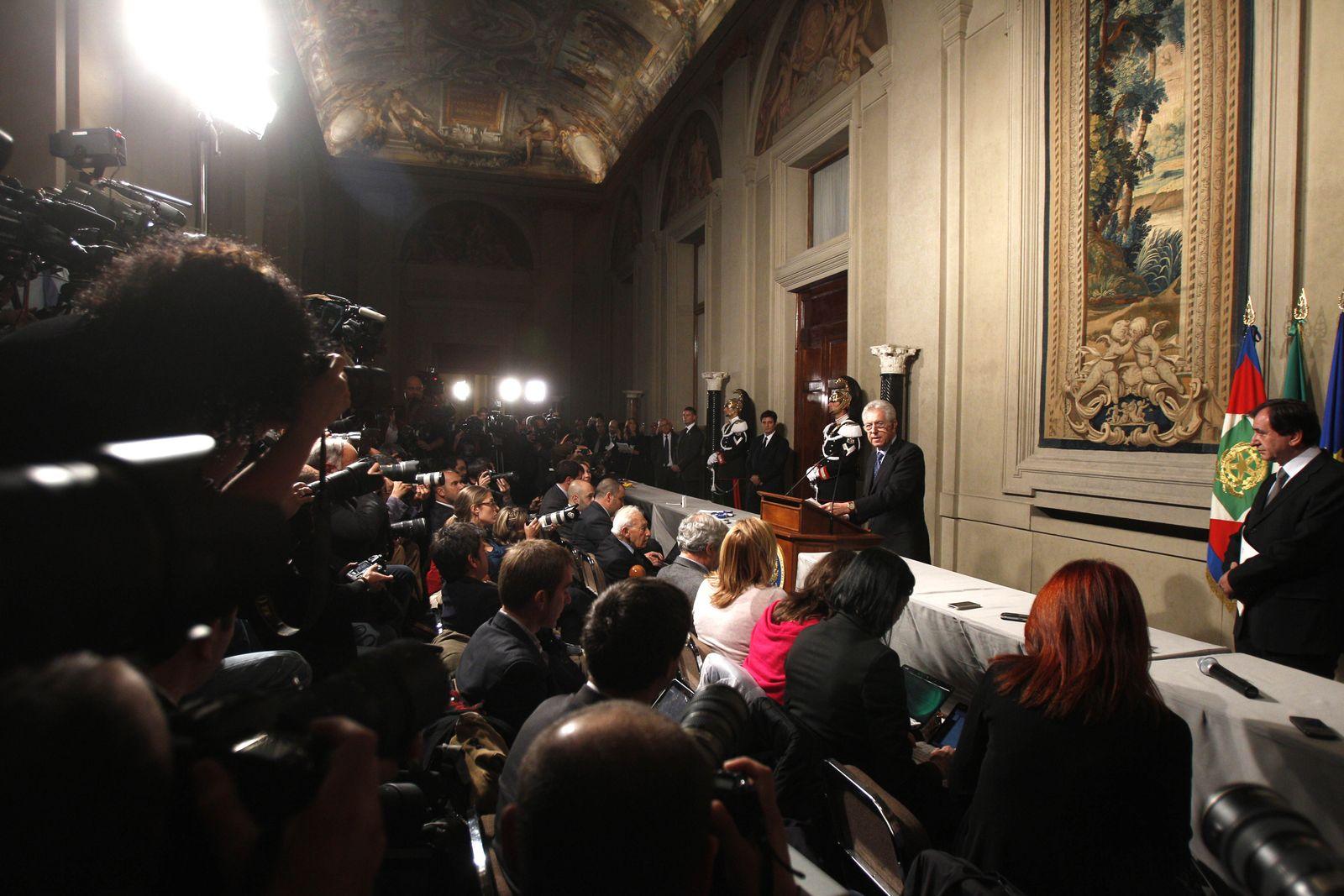 Italy Mario Monti
