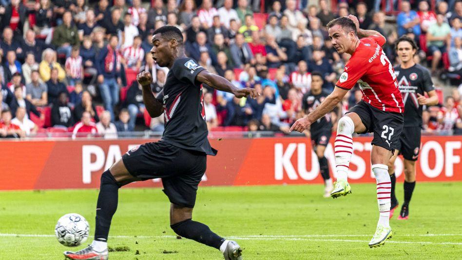 Mario Götze erzielt das 2:0