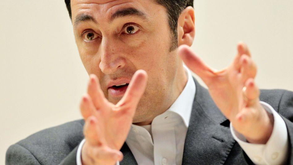 "Grünen-Chef Özdemir: ""Merkel muss ein Interesse daran haben, Papandreou zu stärken"""