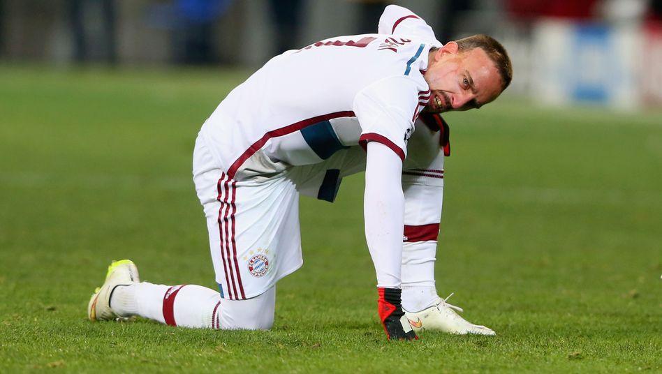 Ribéry: Laboriert an einer Sprunggelenksverletzung