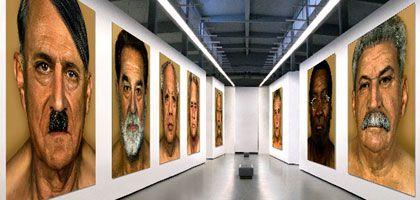 """Die """"Faces of Evil"""": So sollen sie in einer Ausstellung aussehen"""