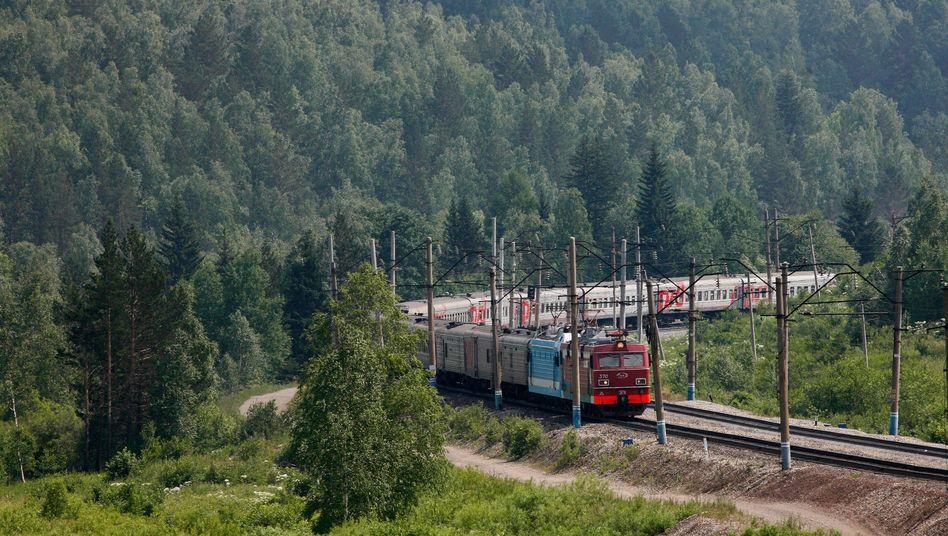 """Zug in Sibirien: """"Heute bevorzugen Reisende eine schnellere Variante"""""""