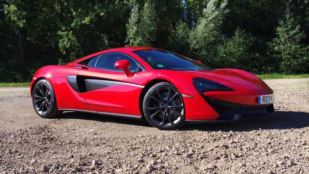 Autogramm McLaren 540 C: Einstiegsmodell für 160.000 Euro
