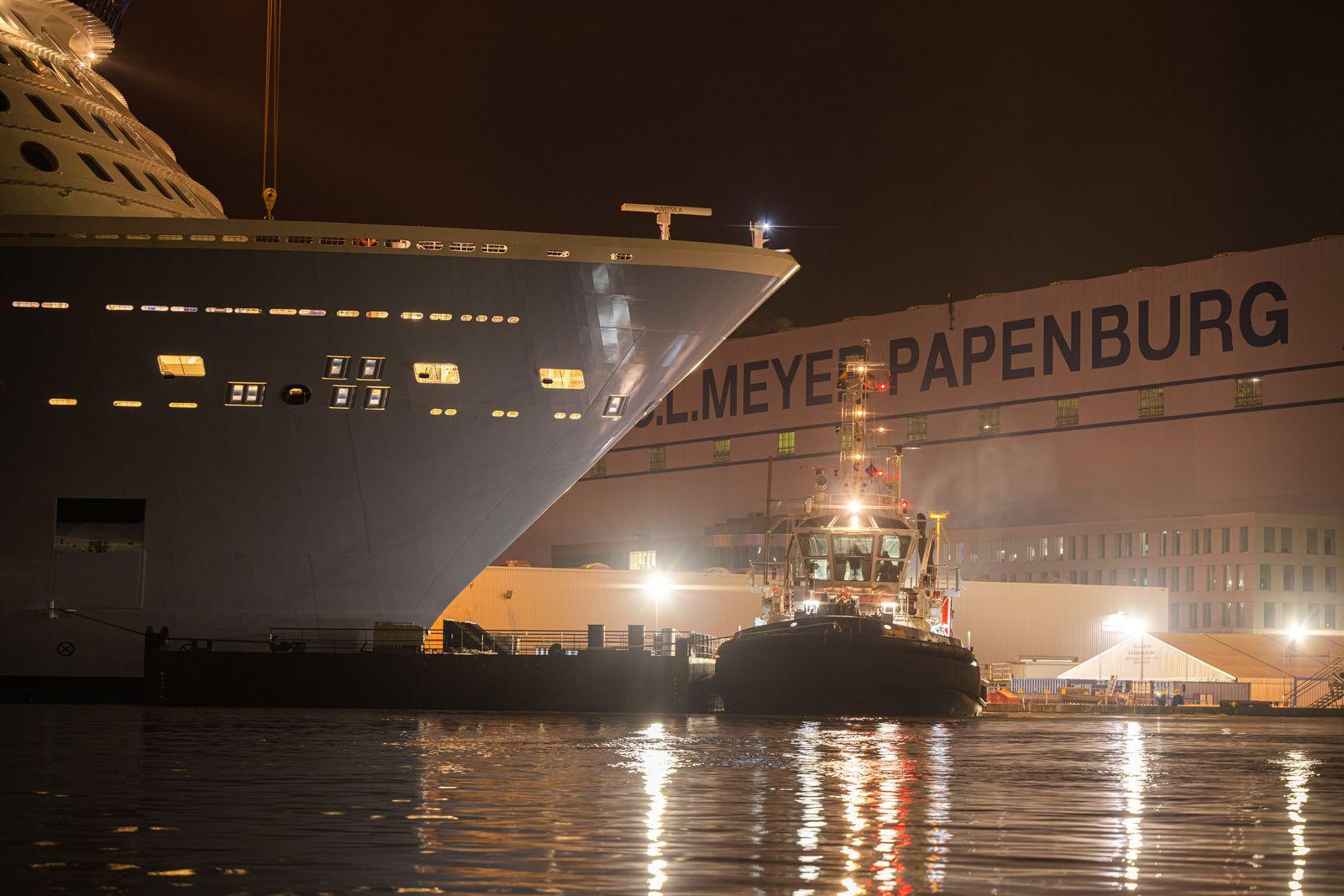 Meyer-Werft baut Arbeitsplätze ab