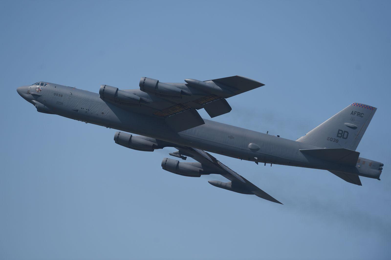 Bomber B52 / US Militärflugzeug