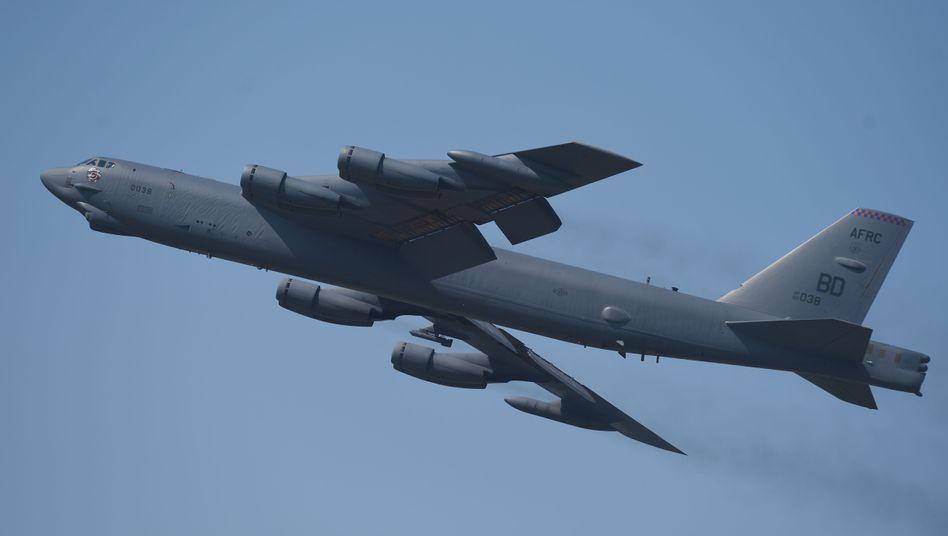 B-52-Bomber der US-Luftwaffe