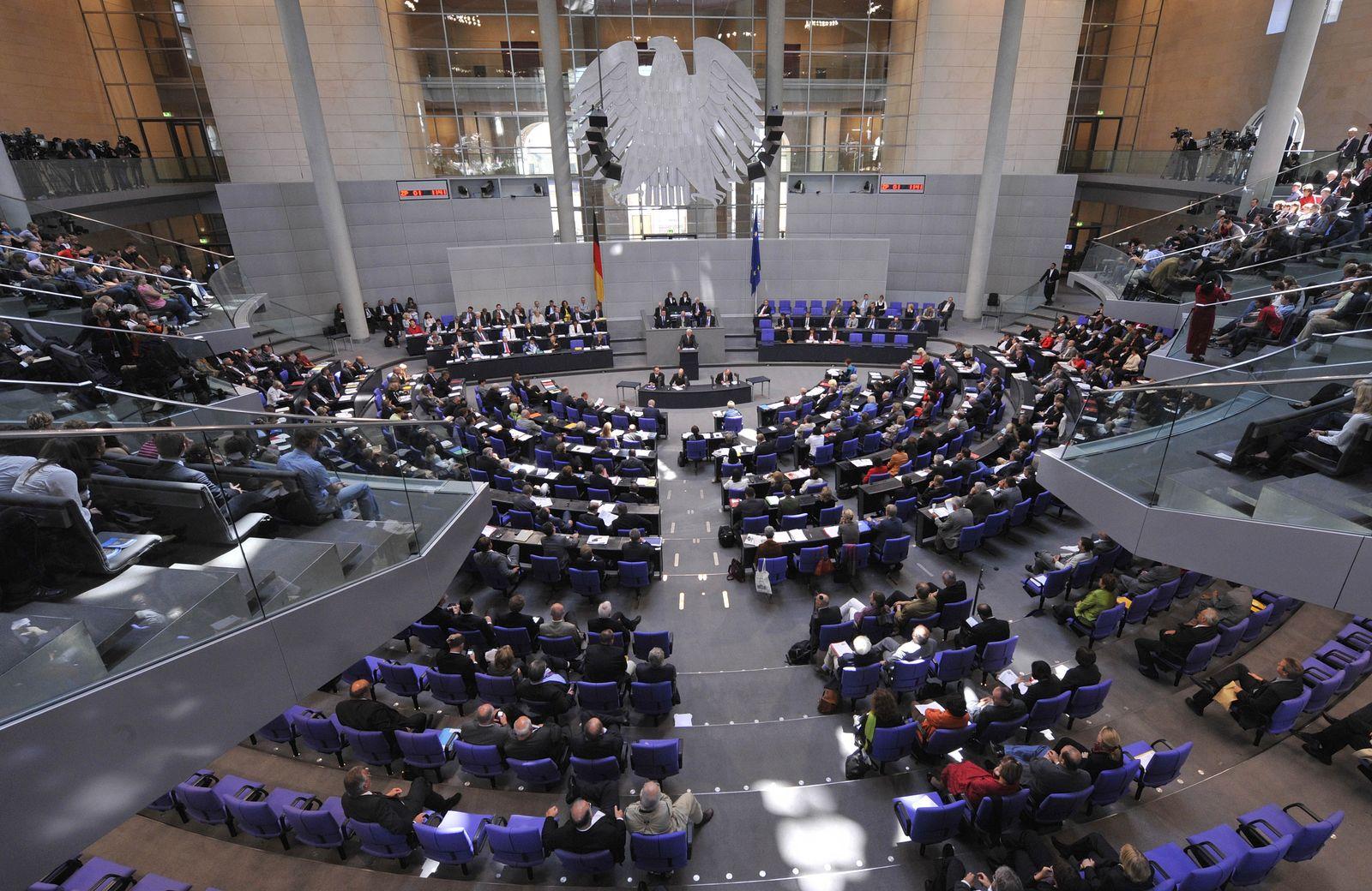 NICHT VERWENDEN Europa/Finanzkrise/ Bundestag