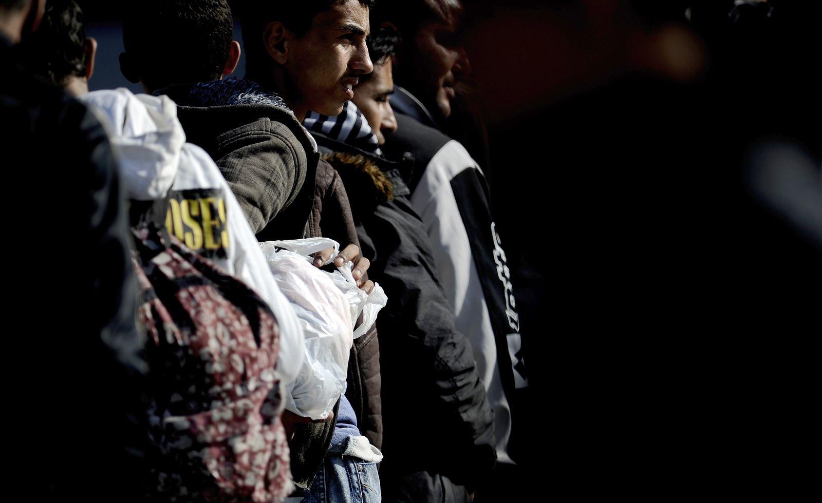 Lampedusa / Flüchtlinge