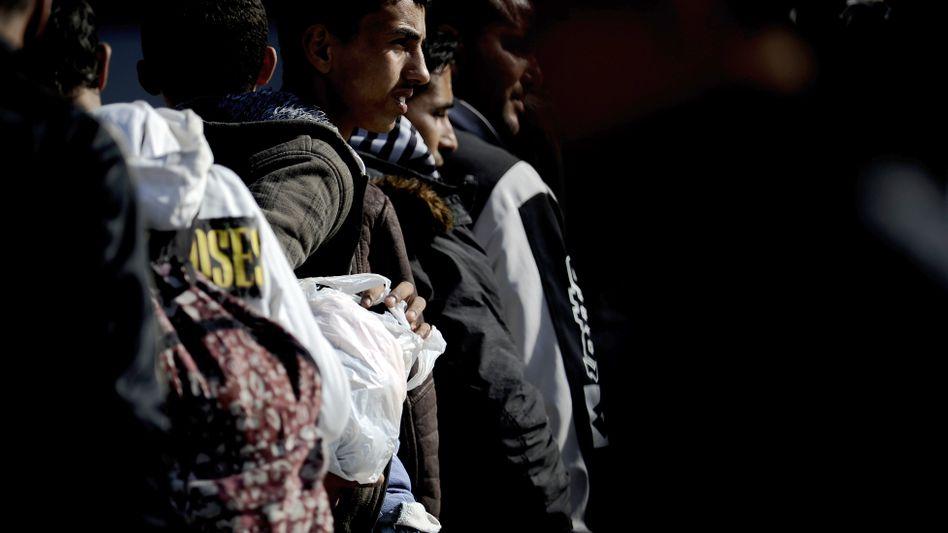 Nordafrikanische Flüchtlinge in Lampedusa: Sie suchen ihr Glück in Europa