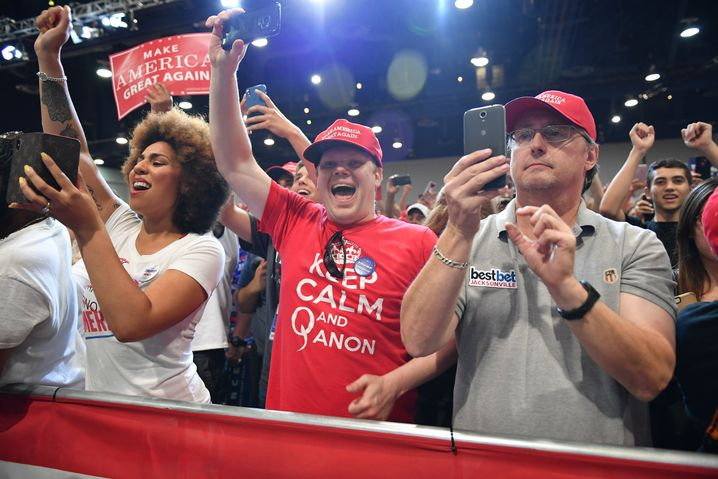 Trump-Anhänger in Las Vegas