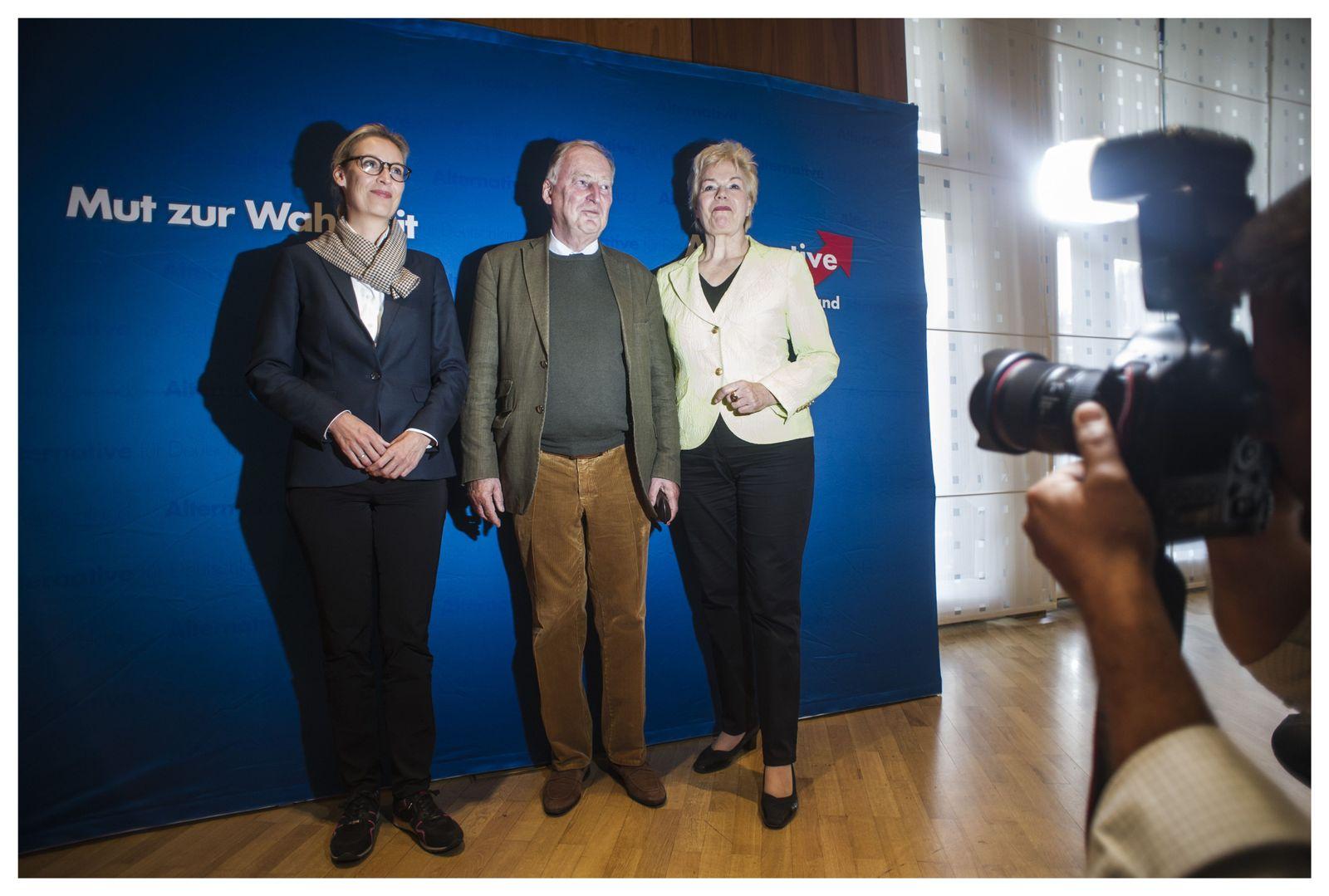 EINMALIGE VERWENDUNG SPIN SPIEGEL 37/2017 Bundestagswahlkampf AfD