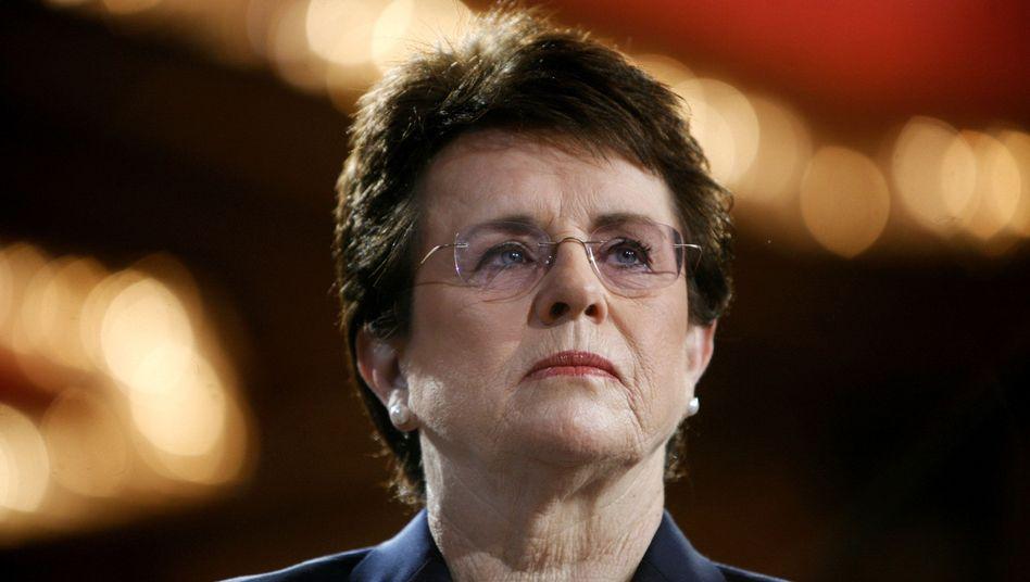 Billie Jean King: Die US-Tennislegende gehört Obamas Delegation in Sotschi an