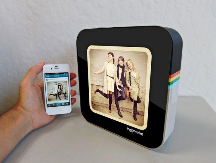 Instacube: Fotodisplay mit 600 x 600 Pixel