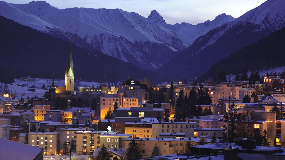Davos, traditioneller Veranstaltungsort des Weltwirtschaftsforums
