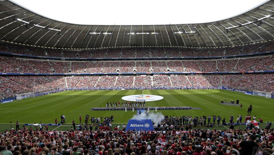 Die Allianz Arena des FC Bayern: Pläne für Ausbau