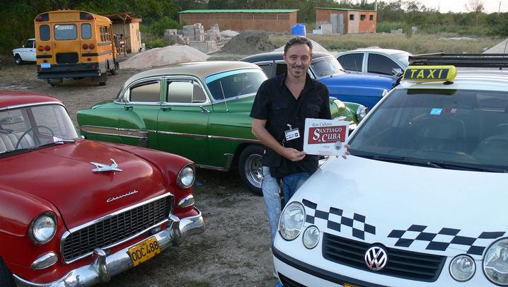 Deutscher Taxifahrer auf Kuba: Endlich legal