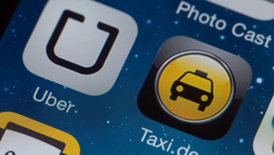Taxi-Apps auf dem Handy: Google arbeitet an einem Uber-Konkurrenten
