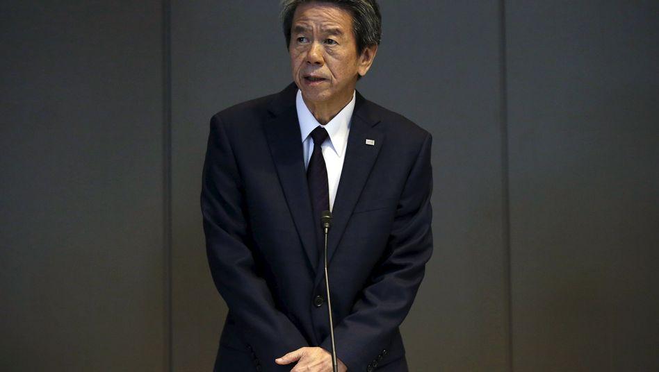 Toshiba-Präsident Tanaka: Jahrelang Kenntnis über falsche Zahlen