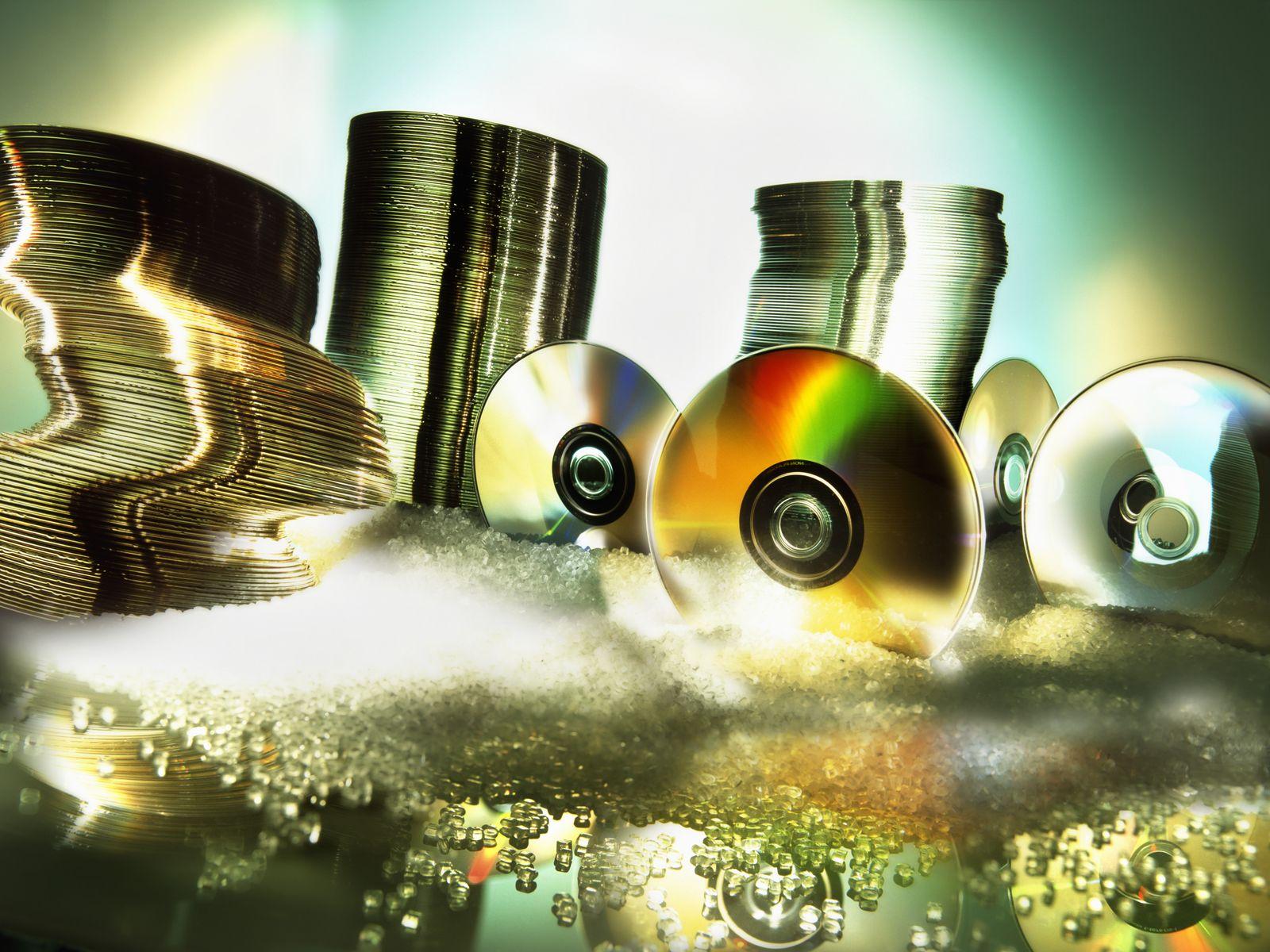 NICHT MEHR VERWENDEN! - Symbolbild DVD/ CD/ Rohlinge