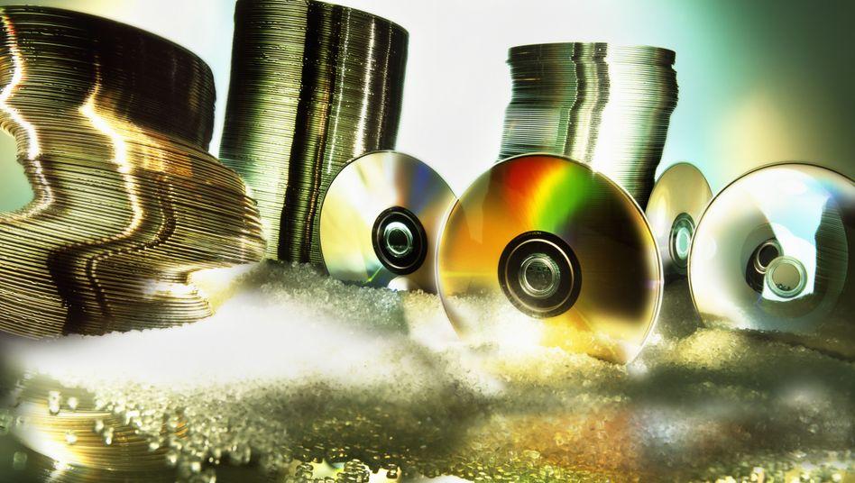 In Spitzenzeiten verkauften sich in Deutschland mehr als 100 Millionen DVDs pro Jahr