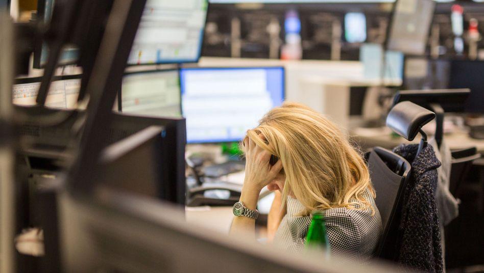 Börse in Frankfurt (Archivbild): Größter Wochenverlust für den Dax seit zehn Monaten