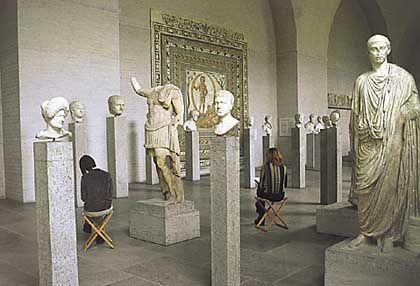 Klenzes klassisches Meisterstück: Die Glyptothek auf dem Königsplatz in München ist einer der steingewordenen Träume des kunst- und antikbegeisterten Königs Ludwig I.
