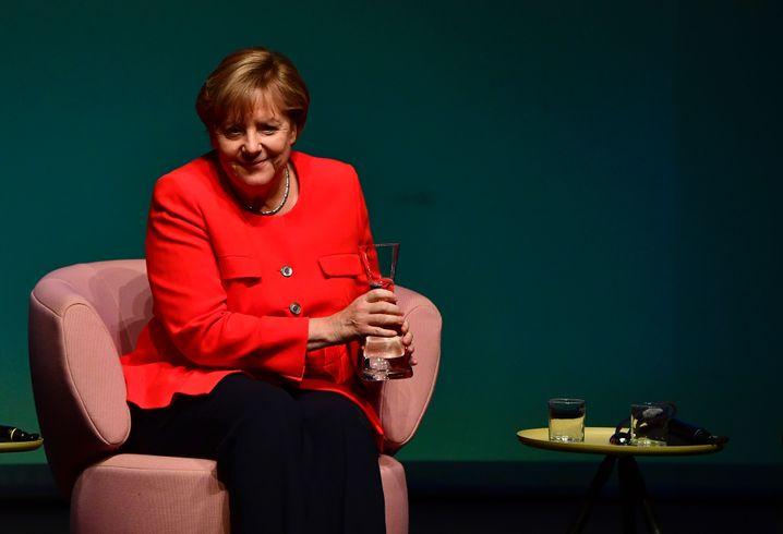 """Angela Merkel beim """"Brigitte""""-Gespräch"""