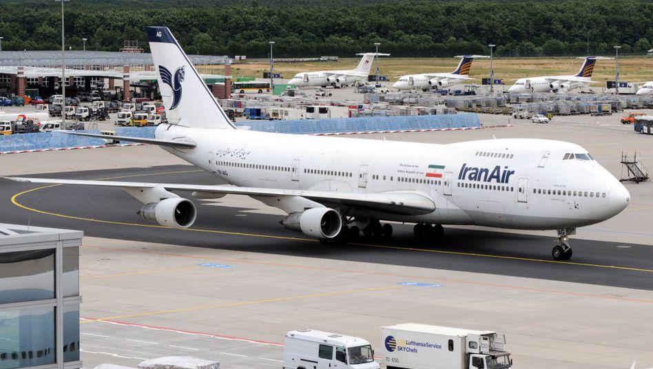 Am Mittwoch soll erneut ein Flugzeug aus Teheran in Frankfurt am Main landen