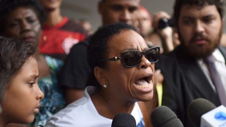Rio de Janeiro: Randale nach Beerdigung des Tänzers da Silva