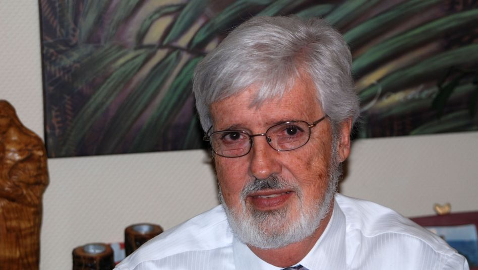 Psychology professor Richard Taylor. The American academic has written about his life with Alzheimer's.