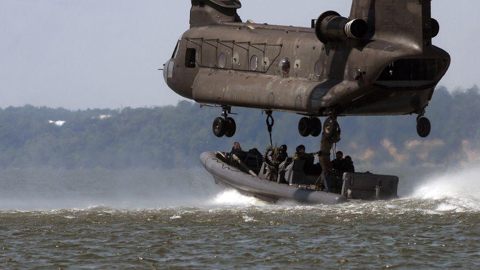 """Spezialeinheit der US-Navy beim Training: """"Es gibt für alle genug zu tun"""""""
