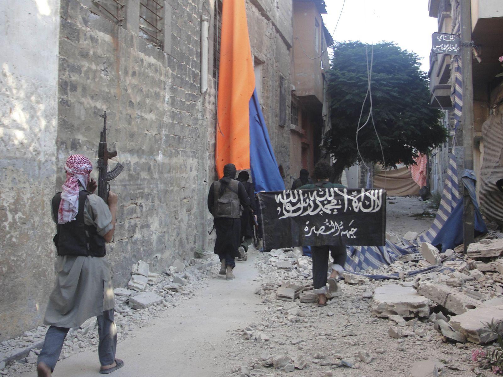 syrien islamistische kämpfer