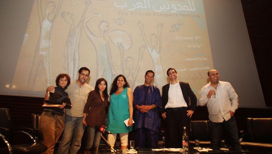 """Blogger des arabischen Frühlings in Tunis: """"Die meisten kennen sich nur aus dem Netz"""""""