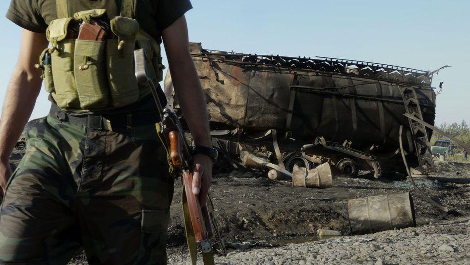 Ausgebrannter Tanklaster bei Kunduz (5. September): Kanzleramt will Akten offenlegen