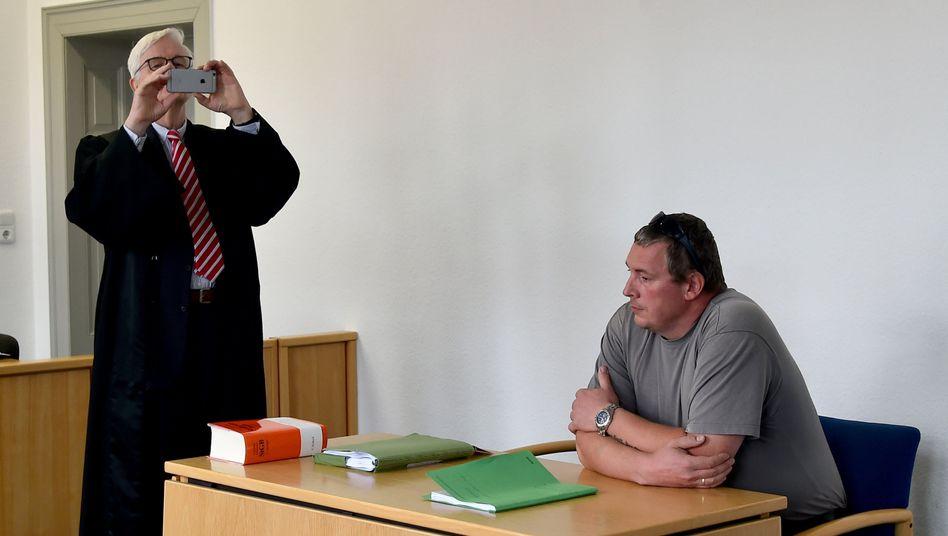 Jan-Ulrich Weiß im Amtsgericht