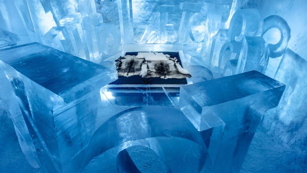 Jukkasjärvi: Eishotel für Sommer wie Winter